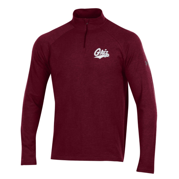 UM Grizzlies Charged Cotton Quarter Zip Pullover