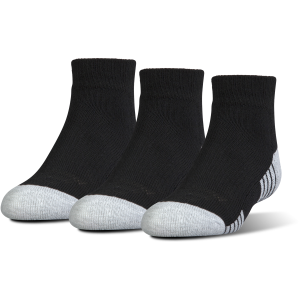 Kids'  UA HeatGear Tech Lo Cut Sock - 3-Pack