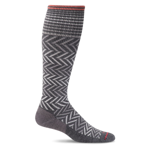 Women's  Chevron Knee High Graduated Compression Sock