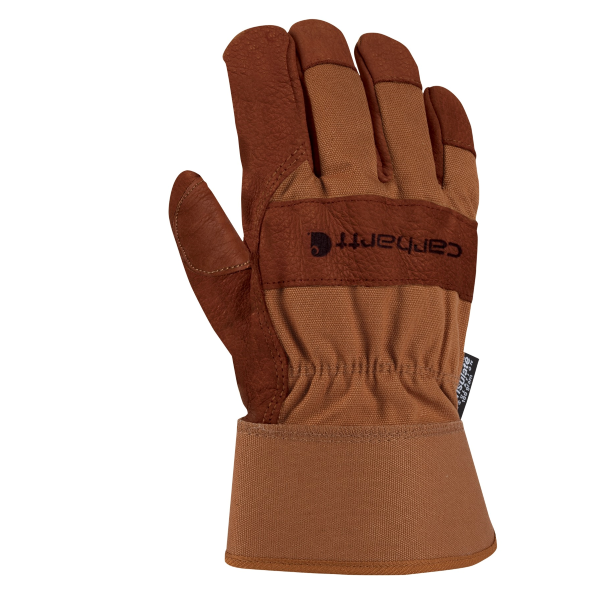 Insulated Bison Leather Work Glove