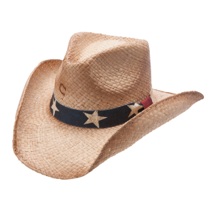 Women's  Stars and Stripes Straw Hat