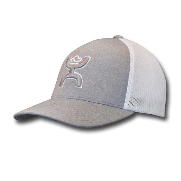 Coach Flex Fit Cap - Gray/White