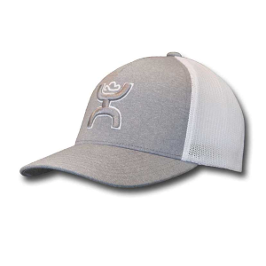 Men's  Coach Flex Fit Cap - Gray/White