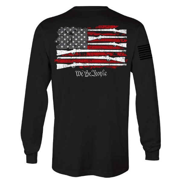 Standing Freedom Long Sleeve Tee