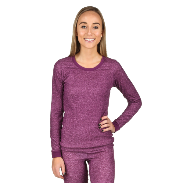 Performance Rib Knit Thermal Long Sleeve Shirt