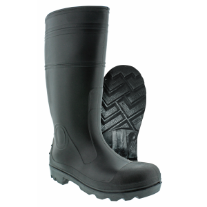 Men's  PVC Steel Toe Boot