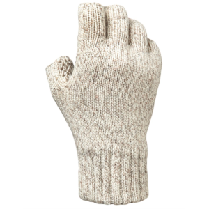 Men's  Insulated Ragg Wool Fingerless Glove