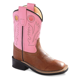 Girls'  Toddler Broad Square Toe Corona Western Boot