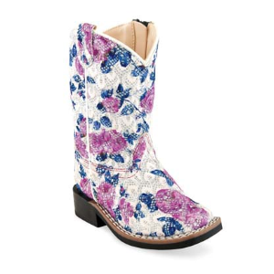 Girls'  Floral Western Boot