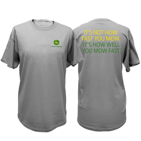 Short Sleeve How Fast You Mow Tee