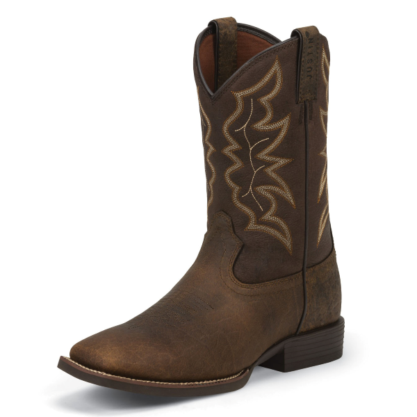 "11"" Chet Pebble Brown Western Boot"