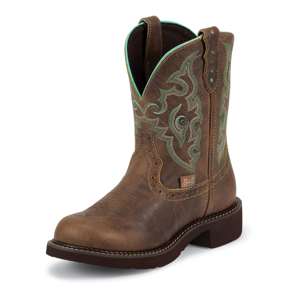 "8"" Tan Jaquare Gypsy Boot"