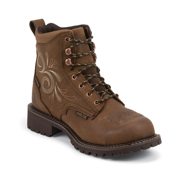 Women's Lace Up Work Boots