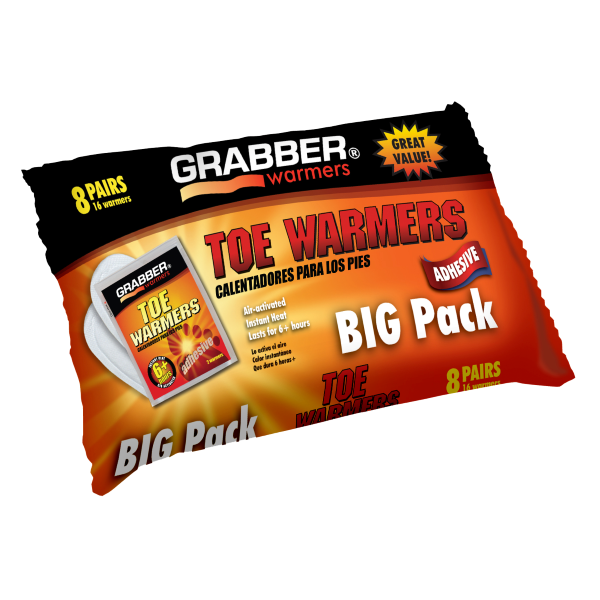 Toe Warmers - 8 Pack