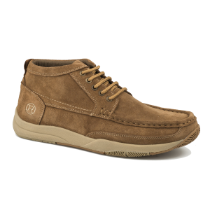 Men's  Tan Suede Leather All Over Shoe