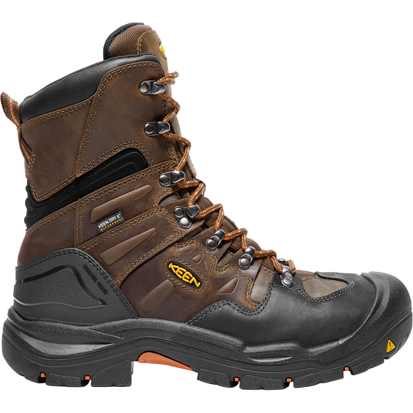 "8"" Coburg Waterproof Steel Toe Boot"