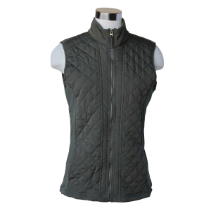 Women's  Quilted Evergreen Vest