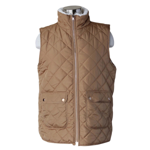 Women's  Quilted Sherpa Vest
