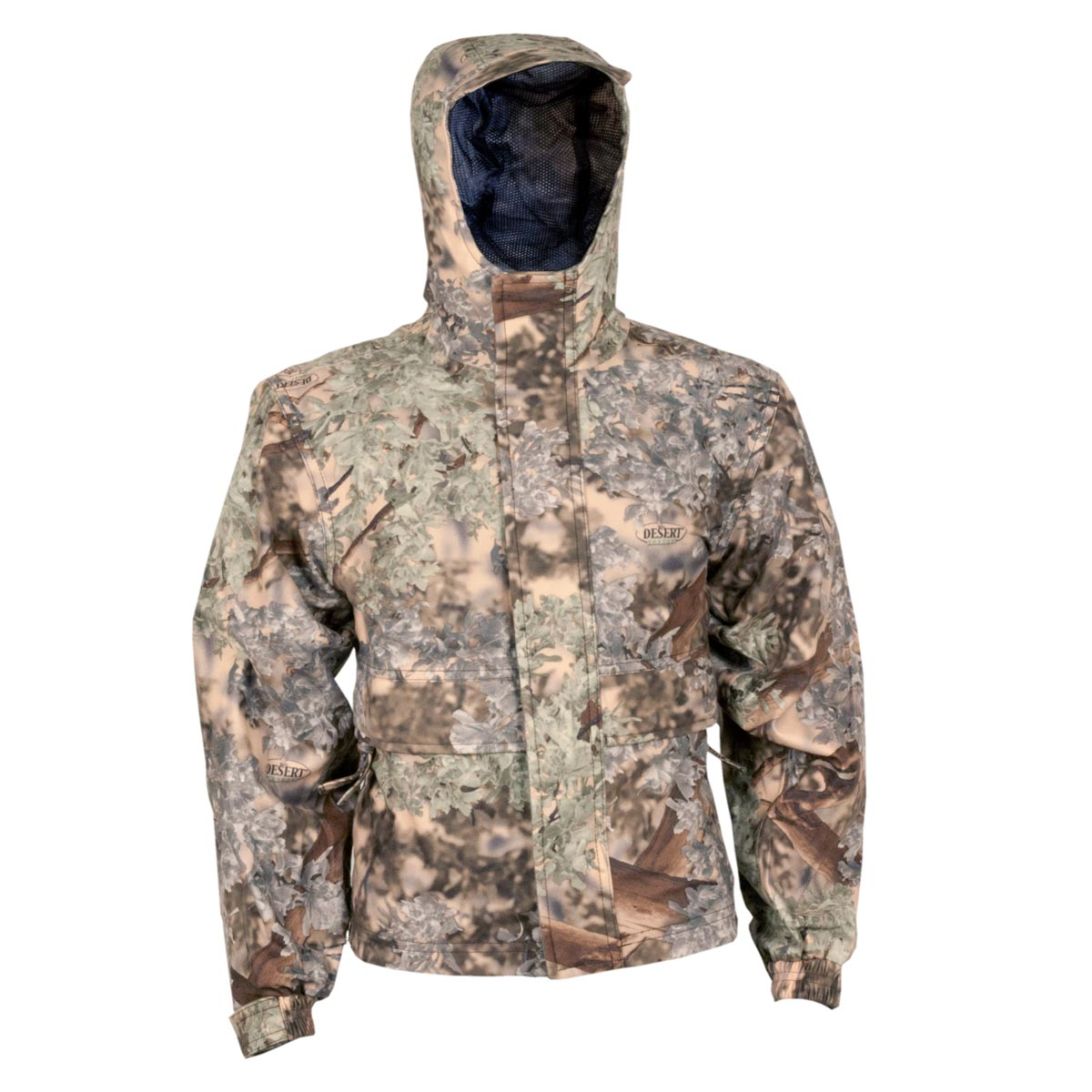 Kids Camo Waterproof Rain Jacket