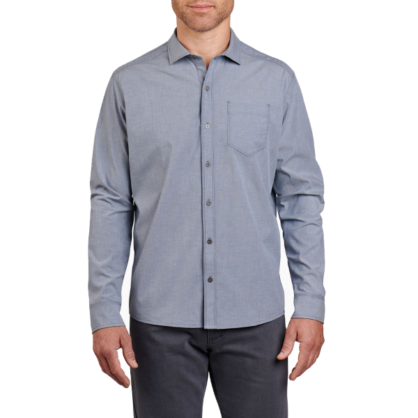 Disputr Long Sleeve Button Down Shirt