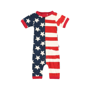 Infant Stars and Stripes Romper