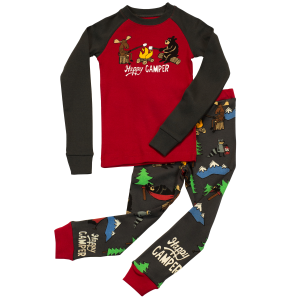 Kids'  Happy Camper PJs Set