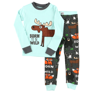 Kids'  Born To Be Wild PJs Set