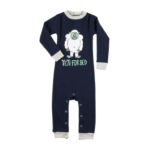 Infant Yeti for Bed Union Suit Long Sleeve