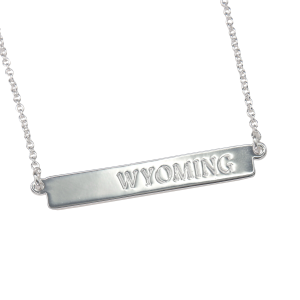 Women's  Wyoming Bar Necklace