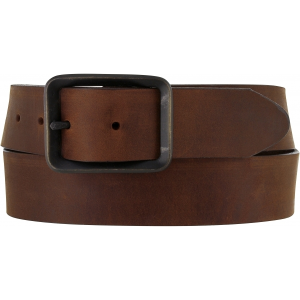 "Men's  1-5/8"" Buckskin Plain Belt"