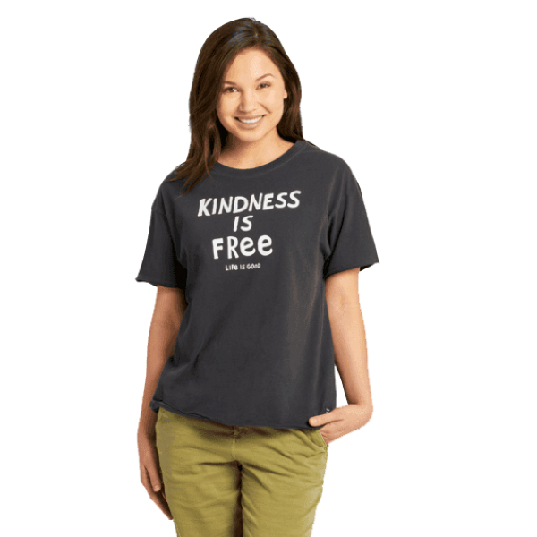 Kindness is Free Crusher Tee