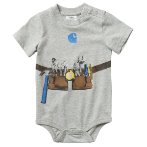 Boys'  Infant Tool Belt Short Sleeve Bodyshirt