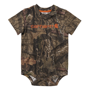 Boys'  Infant Camo Short Sleeve Bodyshirt