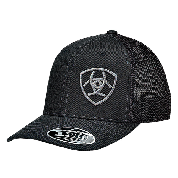 Shield Logo Mesh Snap Back Cap