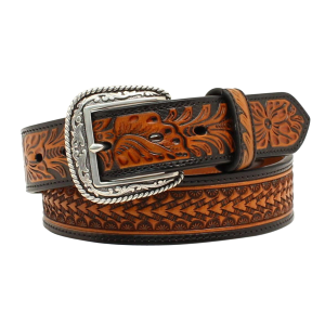 Men's  Embossed Pattern Belt