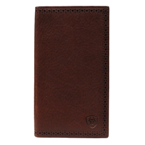 Men's  Perforated Edge Rodeo Wallet