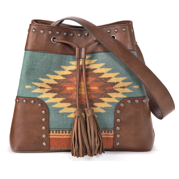 Zapotec Concealed Carry Bucket Bag