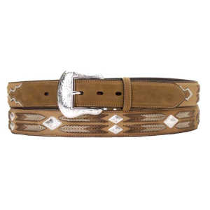 Men's  Diamond Concho Belt