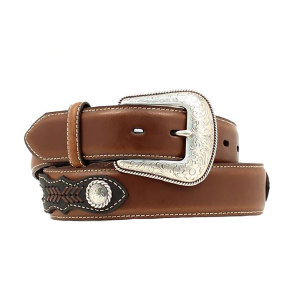 Men's  Tophand Ribbon Inlay Belt