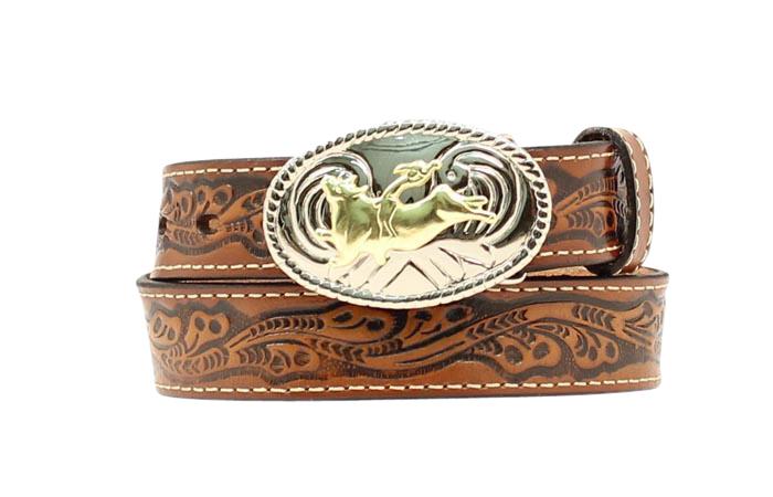 Nocona Boys Bull Rider Belt Buckle
