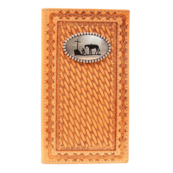 Cowboy Prayer Concho Rodeo Wallet