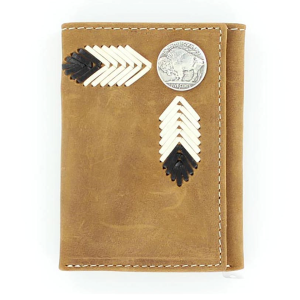 Men's  Buffalo Nickel Tri-Fold Wallet
