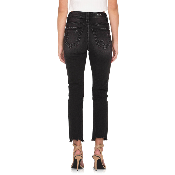 Wing Ankle Straight Jean