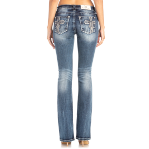 Women's  Cross and Dreamcatcher Boot Cut Jean