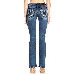 Women's  Horseshoe Wing Boot Cut Jean