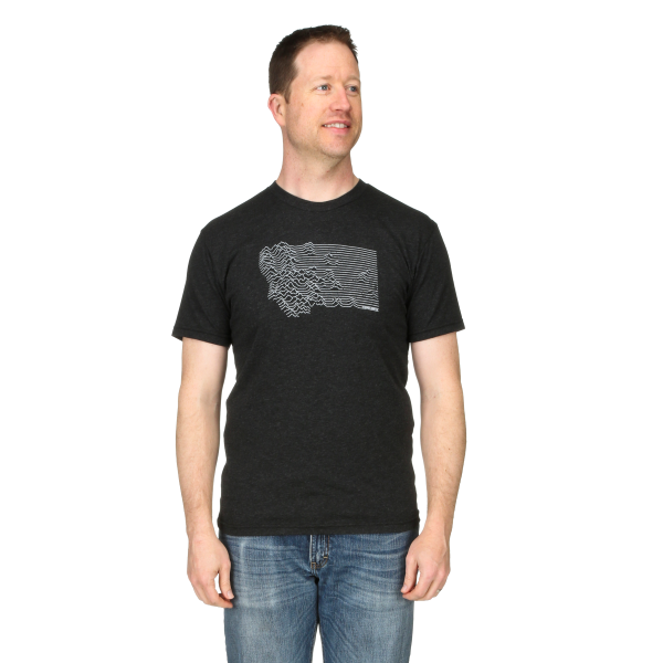 Mountain Range Montana Short Sleeve Tee