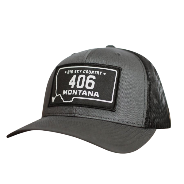 406 License Plate Hat