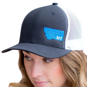 MT Embroidered Retro Trucker Snap Back Cap