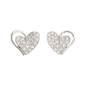 Women's  Heart Print Earrings