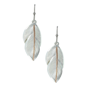 Women's  Downy Feather Earrings